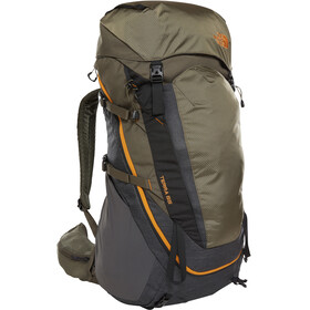 The North Face Terra 55 Backpack Women tnf dark grey heather/new taupe green